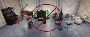 More instruments are muted than just those shown in the picture.