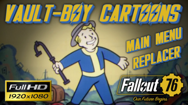 Vault-Boy Cartoons Main Menu Replacer