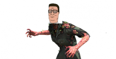 Scorched Hank Hill