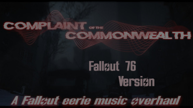 COTC - A Dark and Eerie Music And Sound Overhaul For Fallout 76
