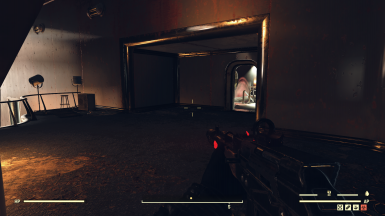 optional red glow 1st person