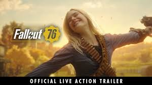 Fallout 76 Official Live Action Trailer Main Menu Replacer