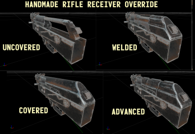 Handmade Rifle Receiver Override