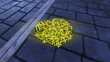 Yellow Scribble Glow & Diffuse