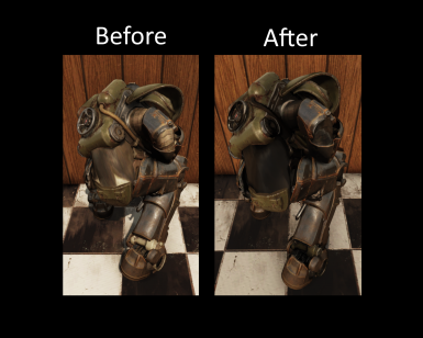 Power Armor Chassis Butt Plate Fix