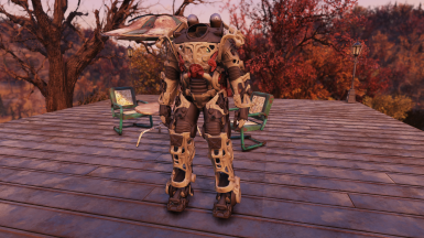 Power Armor Frame and Jetpack - 2k Clean