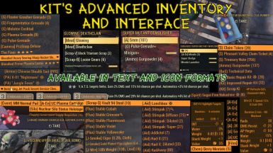 Kit's Advanced Inventory and Interface