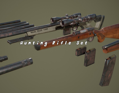 The Hunting Rifle Set