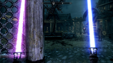 Magicka Sabers for SSE with Light Emission for Switch