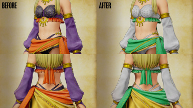 Serena Outfit - Dancer's Costume Recolor