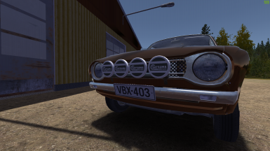Rally Lights (Remade) at My Summer Car Nexus - Mods and