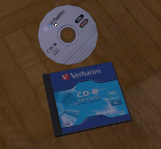 Cd Disk in HQ