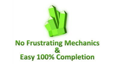 No Frustrating Mechanics -- Easy 100 Completion