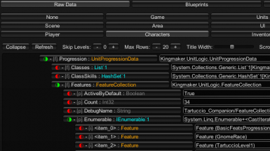 In-game Data Viewer