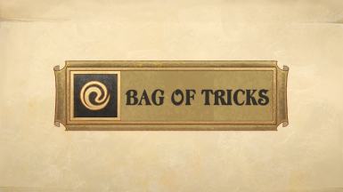 Bag Of Tricks - Cheats and Tweaks
