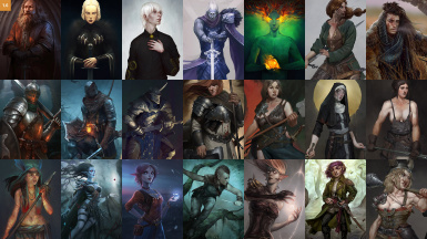 Image result for pathfinder kingmaker custom characters