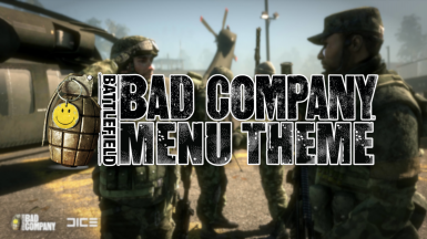 Bad Company Menu Theme