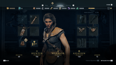 Lv1 Kassandra - 500.000 to all Resources - Drachme