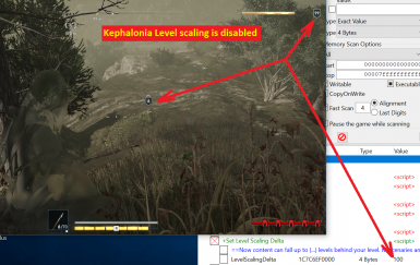 Kephalonia Level scaling is disabled
