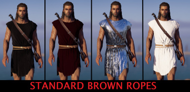 Different Colour Cloth for Alexios