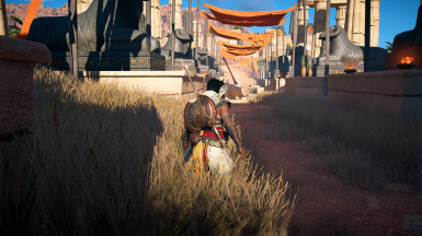 Mod applied to Assassin's Creed Origins