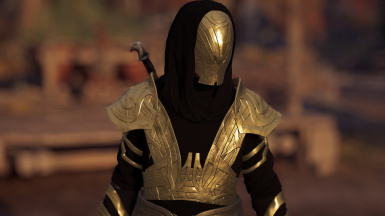 Black and Gold Isu Armour