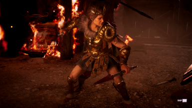 Spear still visible only for cutscenes where the spear is used