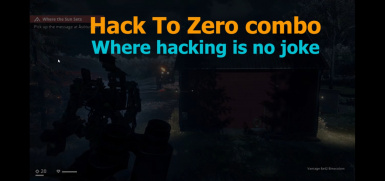 Generation Zero 100% hacking of enemies