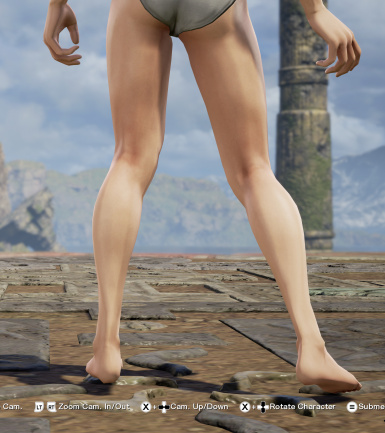 Before (SCVI Muscle Definition 3 Textures)