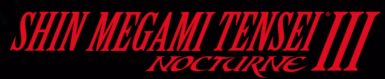 Shin Megami Tensei 3 Nocturne Staff Roll and Main Menu for Character Creation