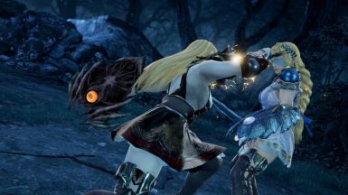 Soul Edge and Soul Calibur from SoulcaliburV for Sophitia