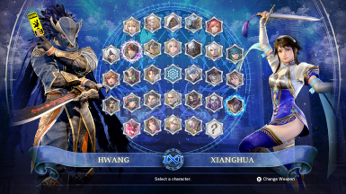Silohs Character Select Screen Collection