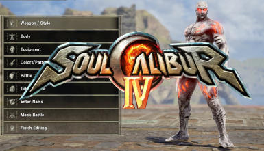 Soul Calibur IV - Infinite Images for Create-A-Soul mode