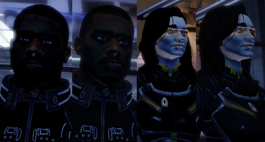 Mass Effect 2 to dark FIX