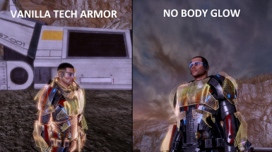 Tech Armor With No Body Glow