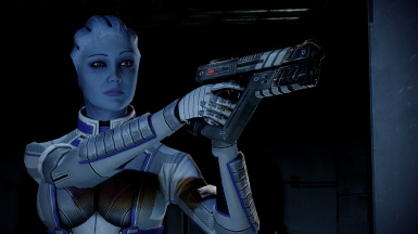 Consistent Liara in SB fight