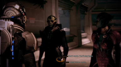 Thane/Samara at quarantine zone