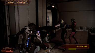 Thane/Samara recruiting Garrus