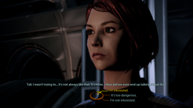 FemShep/Tali romance initiation/lock-in