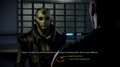 MaleShep/Thane romance lock-in