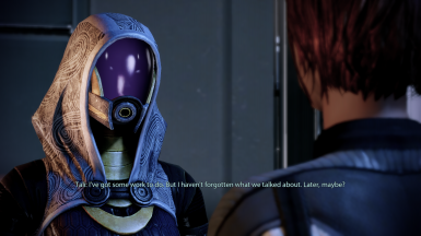 FemShep/Tali romance acknowledgement