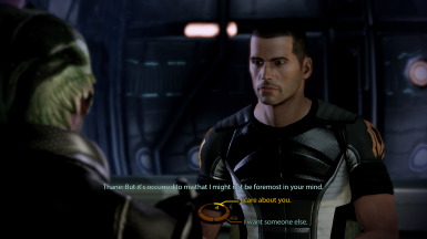 MaleShep/Thane jealousy conversation