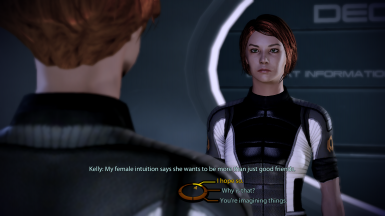 Kelly tells FemShep about Tali