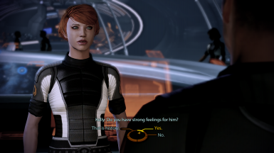 Kelly asks MaleShep about Kaidan