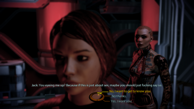 Jack confronts FemShep