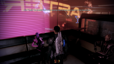 Aria recognizes Shepard's sexuality