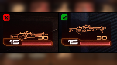 HUD Icon Fixes - ME2 DLC Weapons