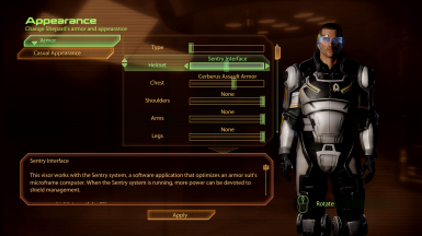 New armors with old shiny visors!
