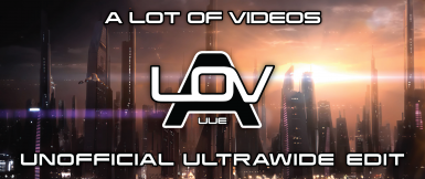 A Lot of Videos (ALOV) for ME2 - Unofficial Ultrawide Edit