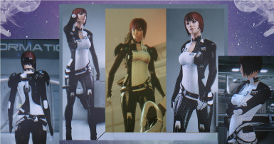 -Techno Rose- Miranda's armor